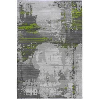 Picture of Abstract Art Green Rug