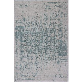 Picture of Distressed Turkish Teal Rug