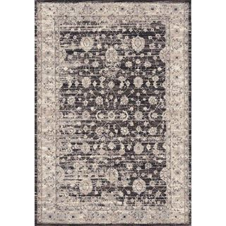 Picture of Distressed Vintage Brown Rug