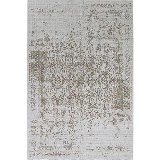 Picture of Distressed Turkish Green Orange Rug