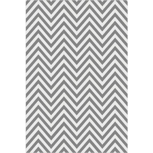 Picture Of Chevron Gray Rug