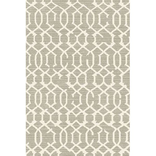 Picture of Lattice Gray Rug