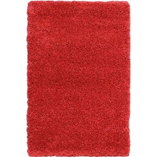 Picture of Shag Rug Solid Red