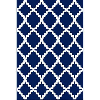 Picture of Trellis Blue Rug