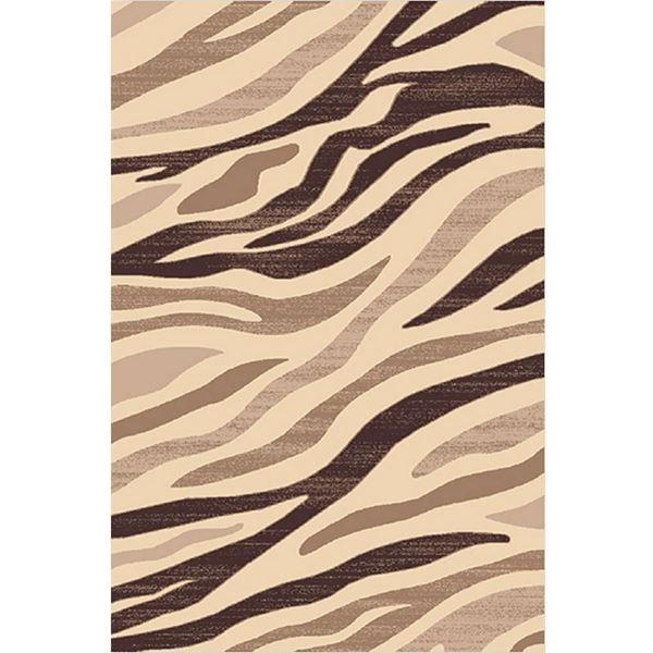 Picture of Animal Patterned Brown Rug
