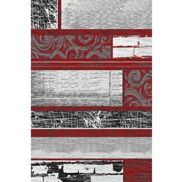 Contemporary-Patchwork-Red-Rug