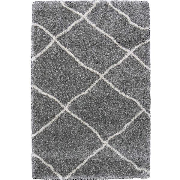 moroccan trellis beige shag rug by cozy rugs in chicago. | cozy