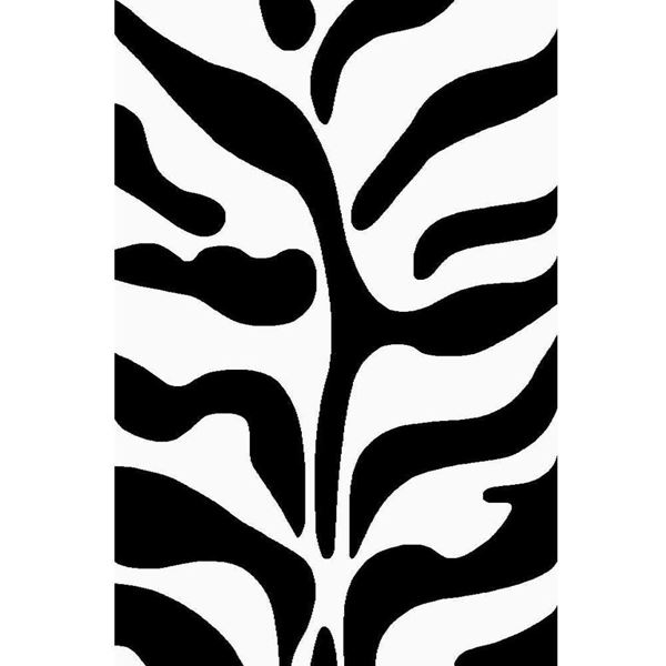 Black-and-White-Zebra-Rug