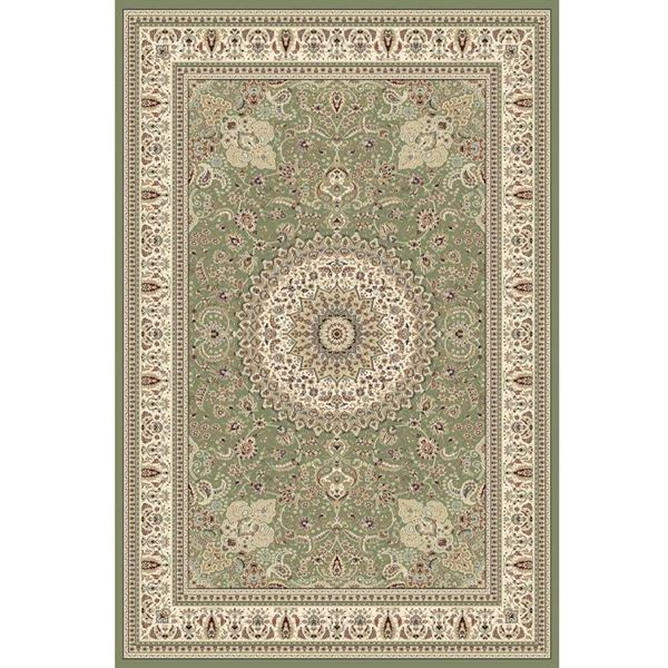 Traditional-Medallion-Rug-Green
