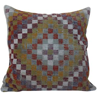 Multicolor Oversized Kilim Pillow