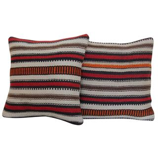 striped-kilim-rug-pillow-a-pair 1