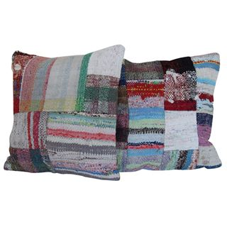handmade-patchwork-pillows-a-pair 1