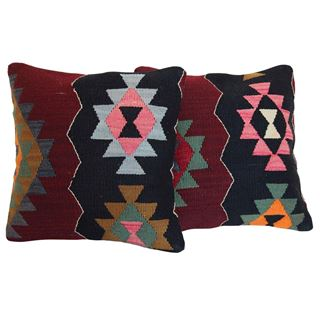 vintage-kilim-rug-pillow-a-pair 1