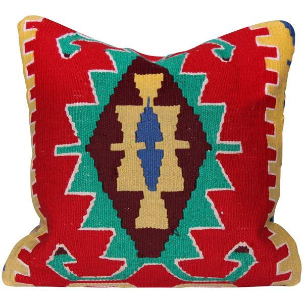 Bohemian-Vivid-Diamond-Kilim-Pillow 1