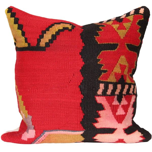 Bohemian-Moroccan-Wool-Throw-Pillow 1