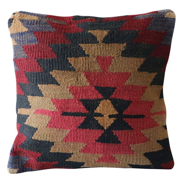 Pink-Diamond-Medallion-Kilim-Pillow 1