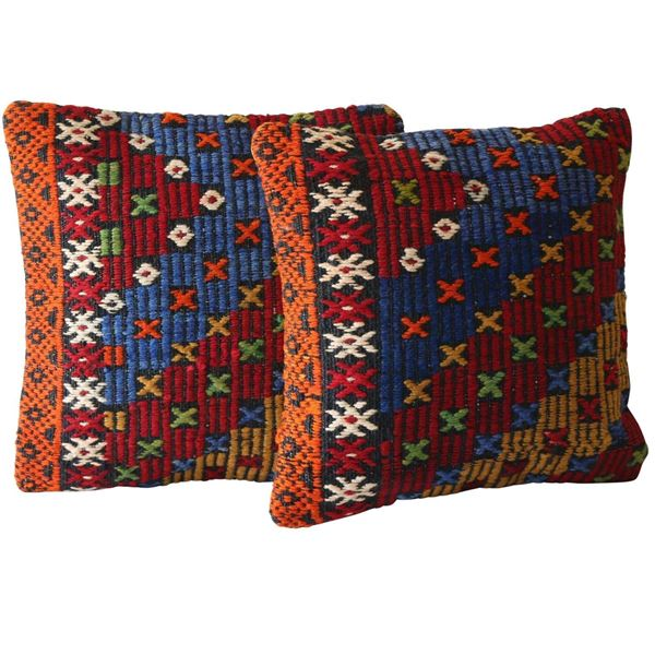 Moroccan-Beni-Ourain-Pillow A Pair 1