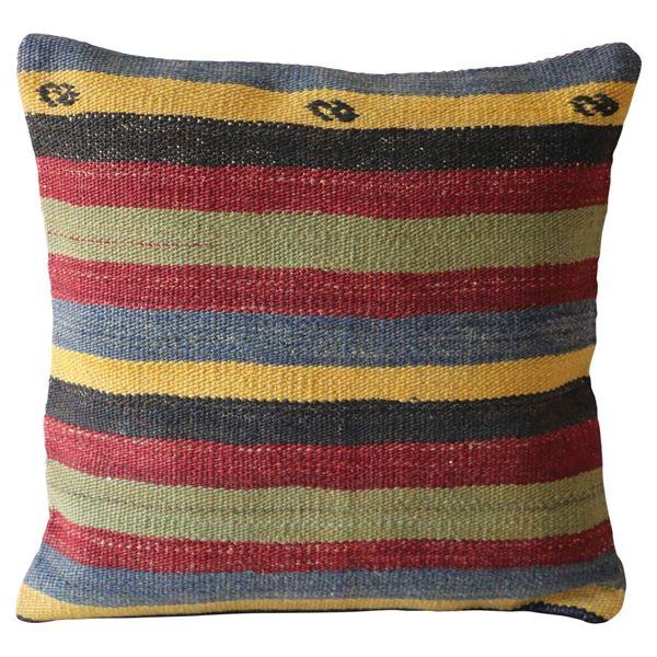 Colorful-Striped-Bohemian-Pillow 1