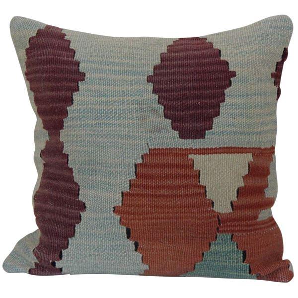Vintage-Oriental-Kilim-Rug-Pillow 1