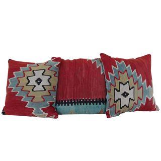 Vintage-Throw-Kilim-Pillows-Set-of-3 1